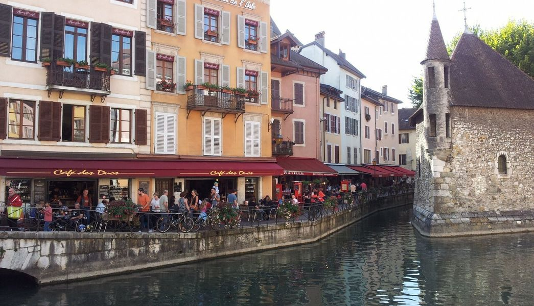 Annecy am Lac d'Annecy